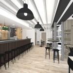 aménagement intérieur restaurant 78